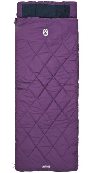 Coleman Vail Comfort - Sac de couchage - violet